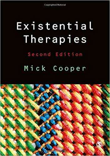 Existential Therapies - Mick Cooper